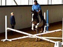 Training at Quainton Stud