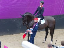Triple X and Ben at the 2012 Olympics